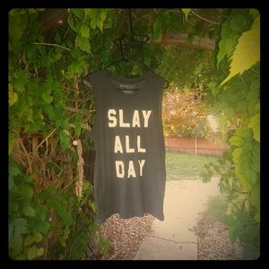 Slay all day 5th Sun tank top xl